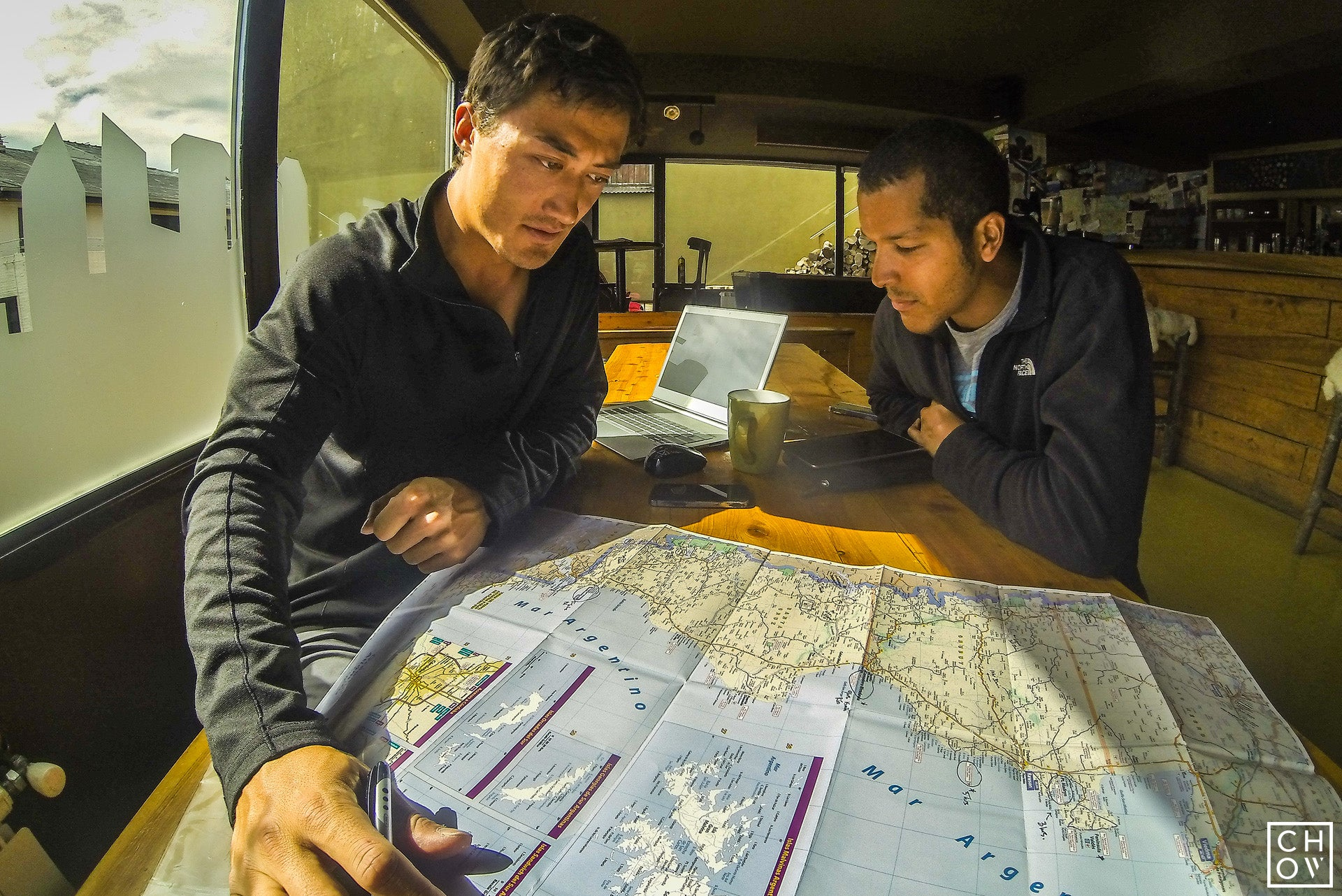 Route Planning in a Bariloche Hostel