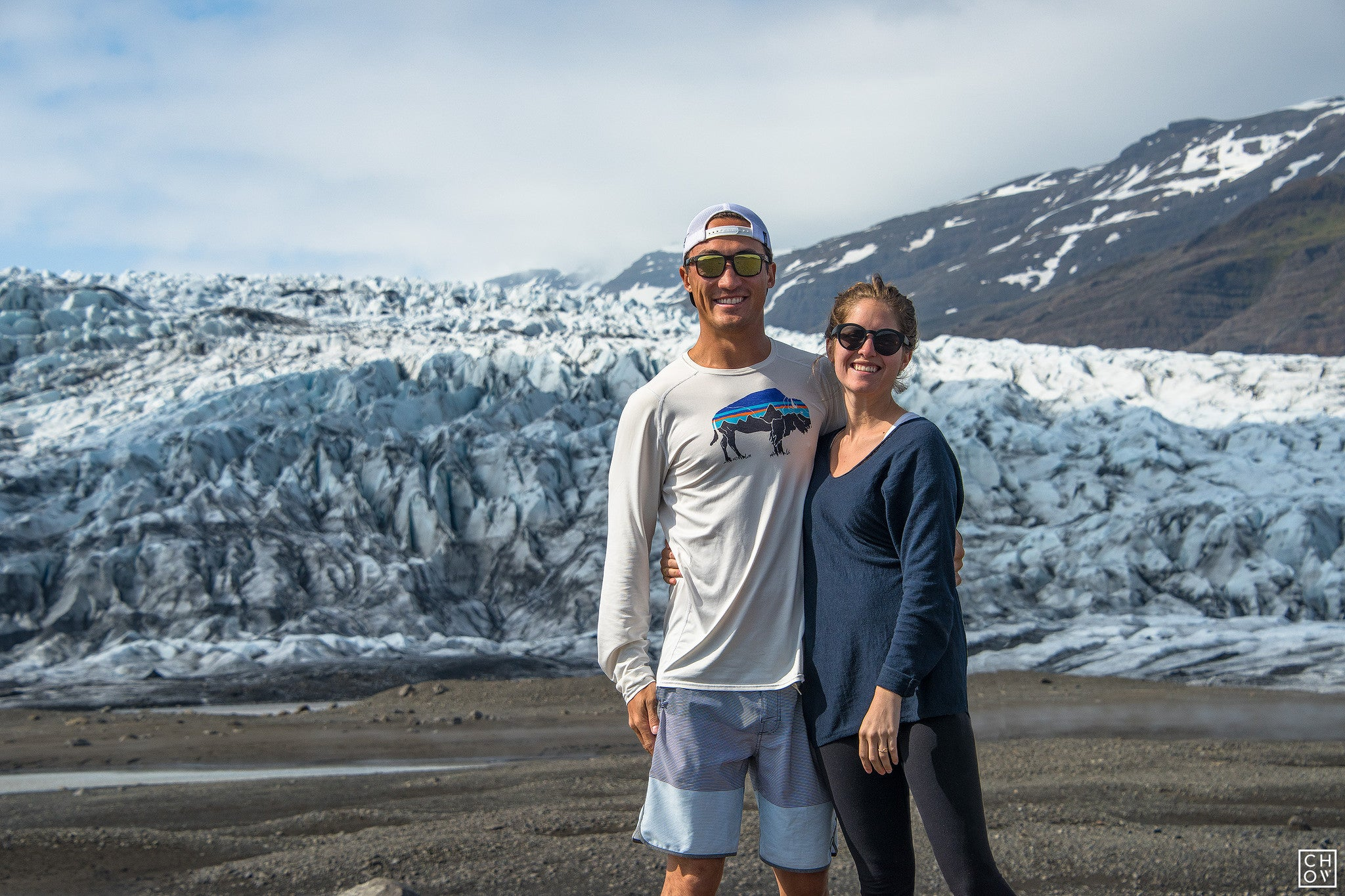 Flaajokull Iceland Austin and Mary Ross