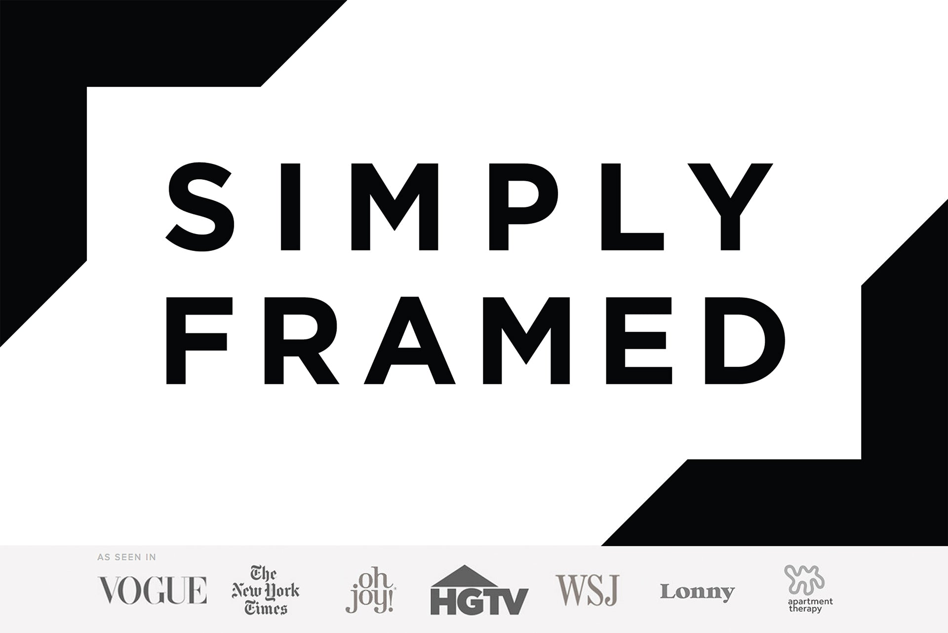 Proud Partner of Simply Framed