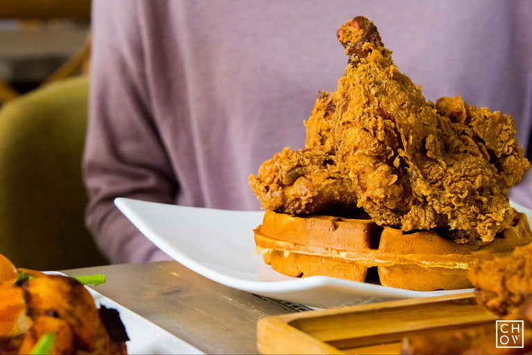 Chicken & Waffles // The Public