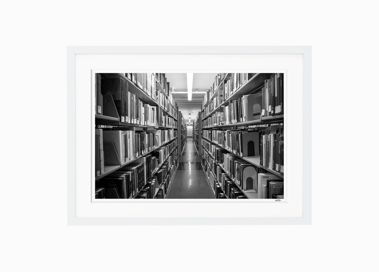 The Stacks // Firestone Library, Princeton University
