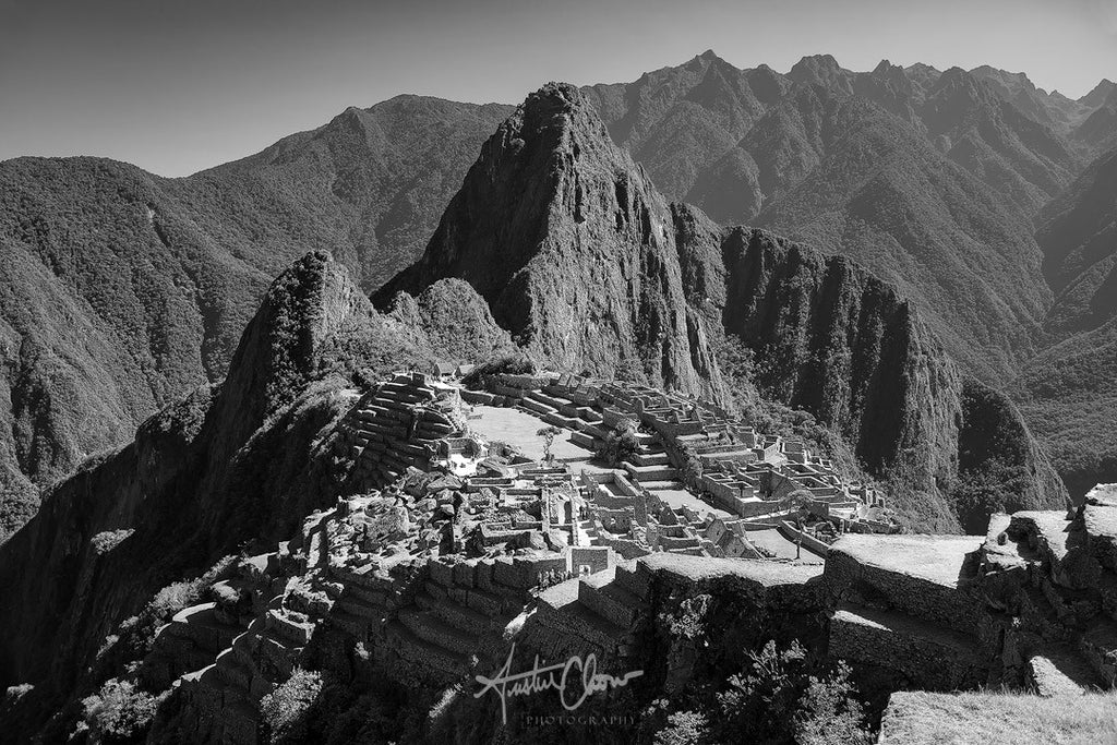 The Lost City (Black // White) // Machu Picchu, Peru