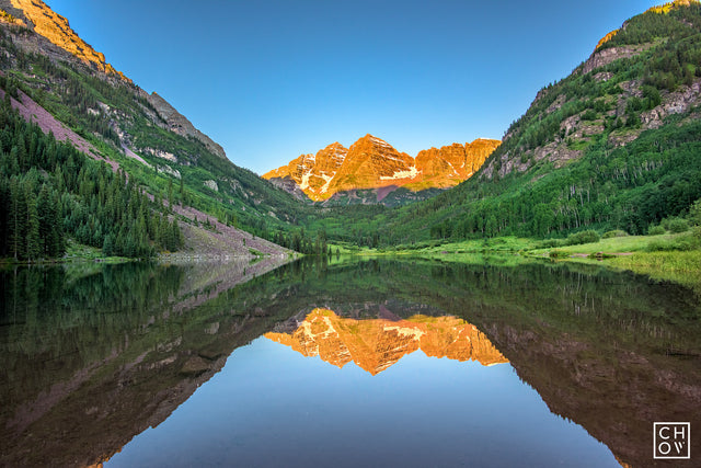Morning Bells // Maroon Bells, Aspen