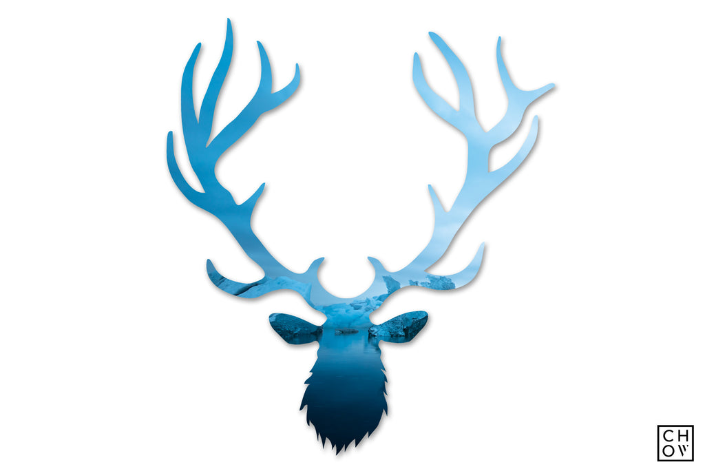Midnight Glacier // Elk Avatar