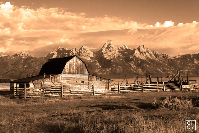 Old Country // Mormon Row, Wyoming