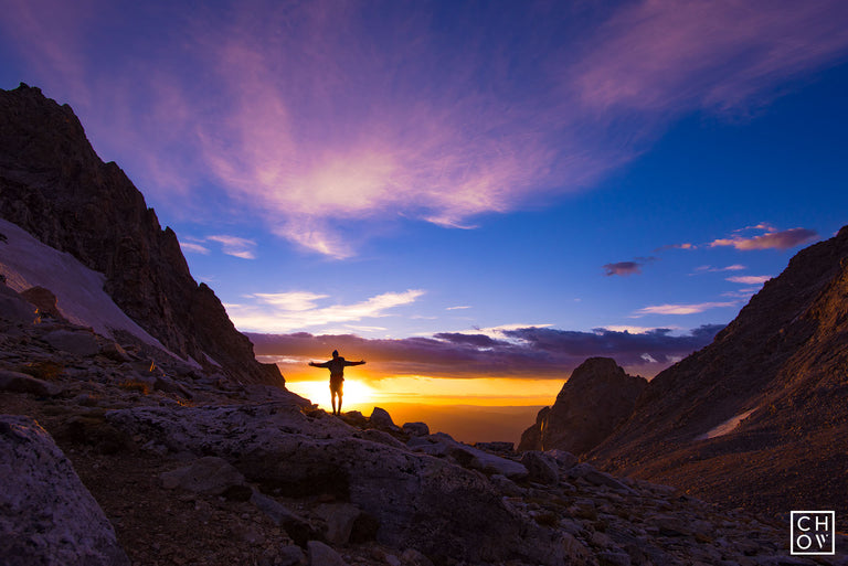 Sunrise Summit Ascent // Middle Teton, Grand Teton National Park