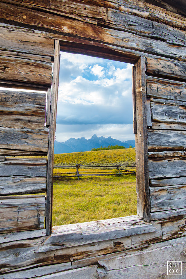 Teton Window // Jackson Hole, Wyoming