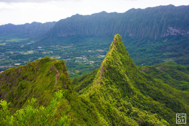 Three Peaks // Oahu, Hawaii