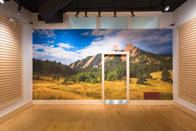 Flat Irons Retail Wall // Boulder, Colorado