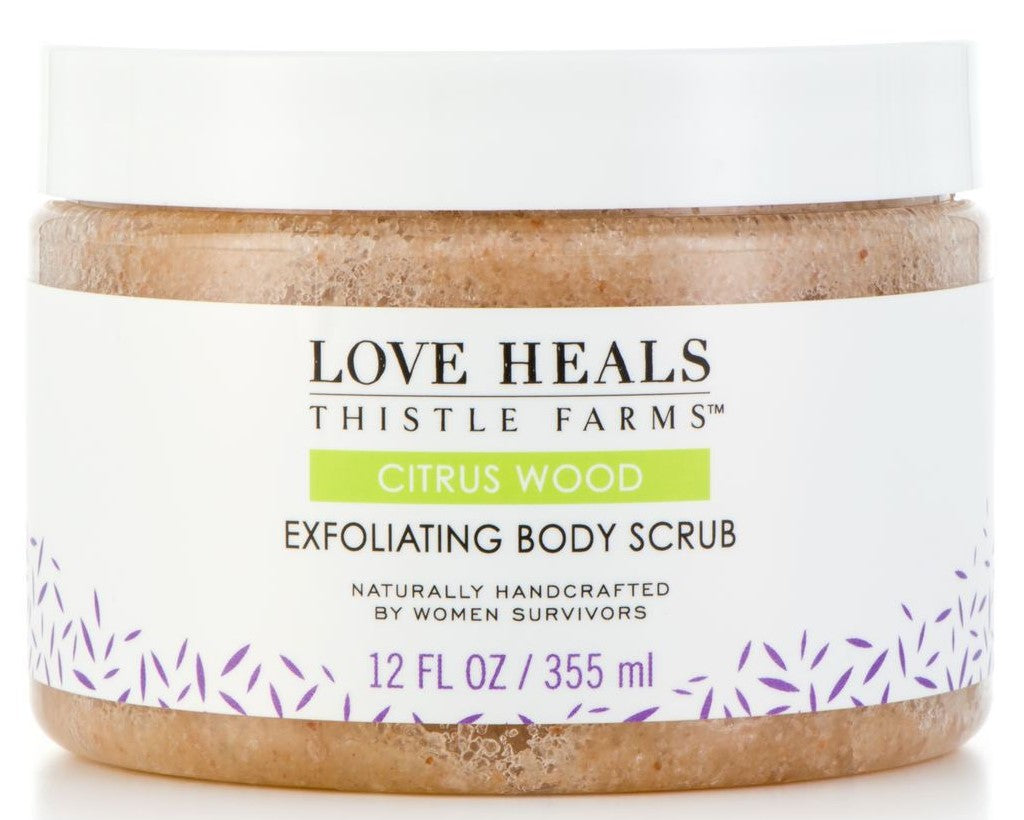 Love Heals - Exfoliating Body Scrub - Citrus Wood