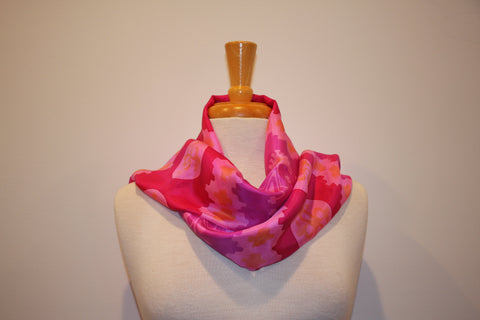 SB Collection - Pink & Orange Silk Diaguita Inspiration 6