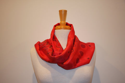 SB Collection - Red & Black Silk Diaguita Inspiration 7