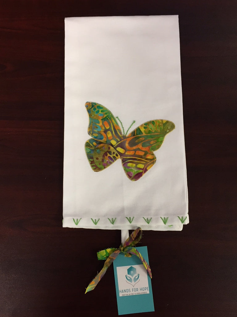 Tea Towel - Butterfly - Multi-color