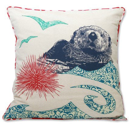 Pillow Cover - Sea Otter