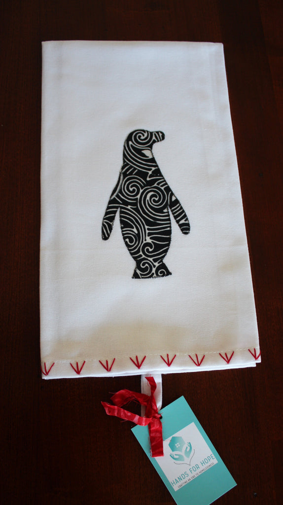 Tea Towel - Penguin