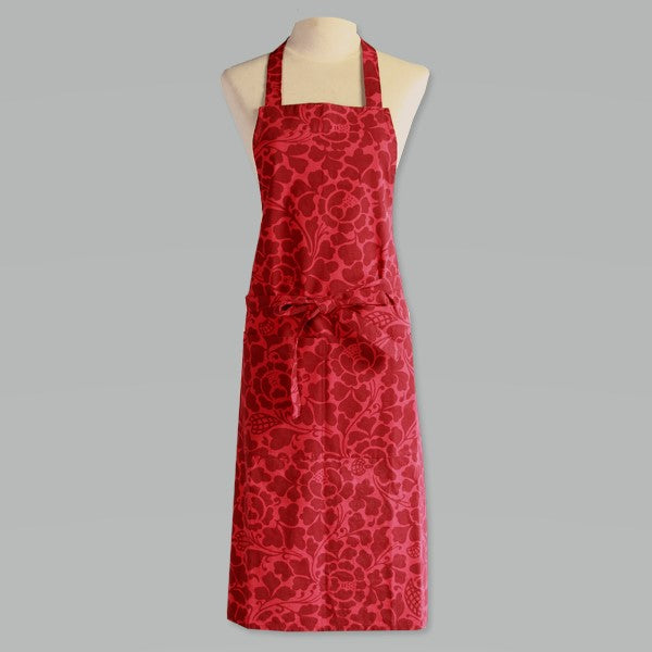 Apron Red Maroon