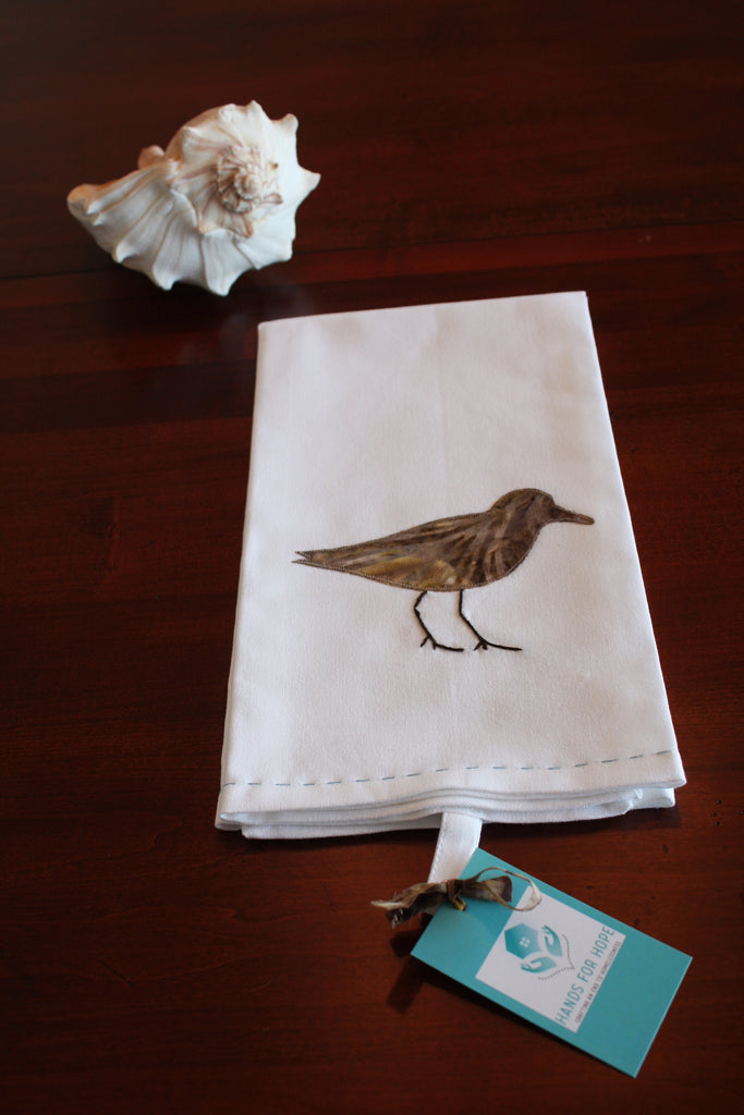 Tea Towel - Sandpiper