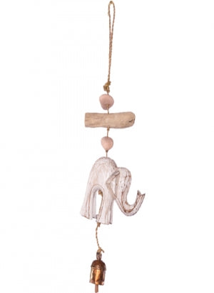 Chime - Wood & Driftwood Elephant