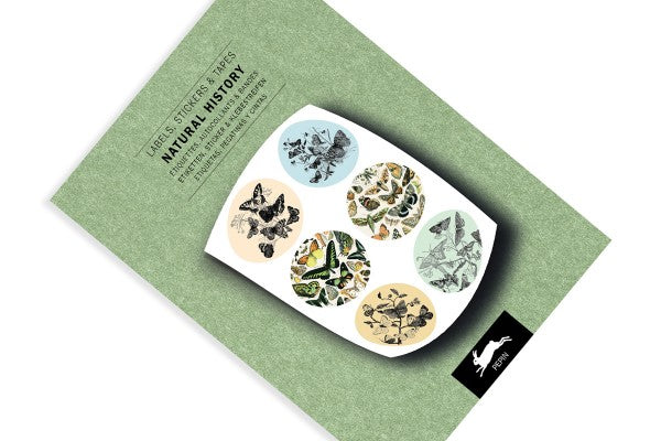 Pepin Label and Sticker Book: Natural History