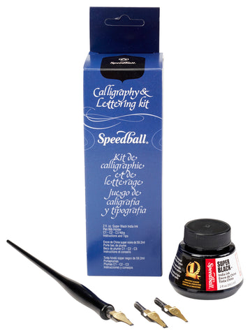Speedball Calligraphy & Lettering Set
