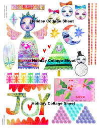 Holiday Collage - Merry and Bright