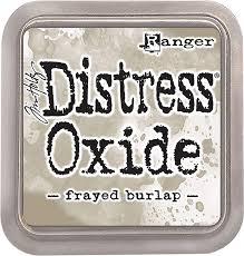 Distress Oxide Ink Pad Frayed Burlap