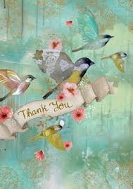 Graceful Birds Thank You Cards
