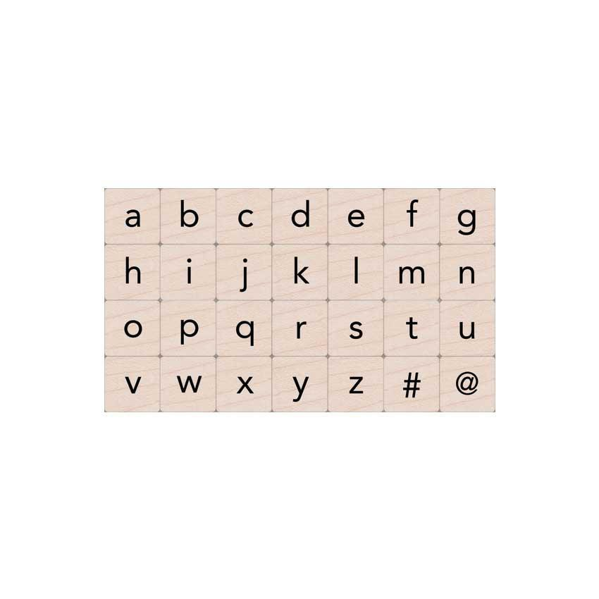 Hero Arts Essential Lowercase Letters Set