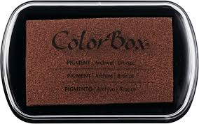 Colorbox Pigment Ink Pad Copper