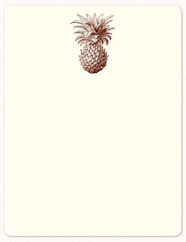 Alexa Pulitzer Note Cards Pineapple