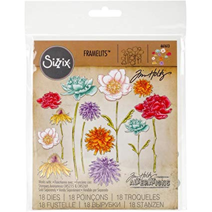 Sizzix Flower Garden & Mini Bouquet Thinlits Dies