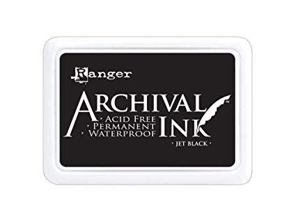 Ranger Archival Ink Pad XL Jet Black