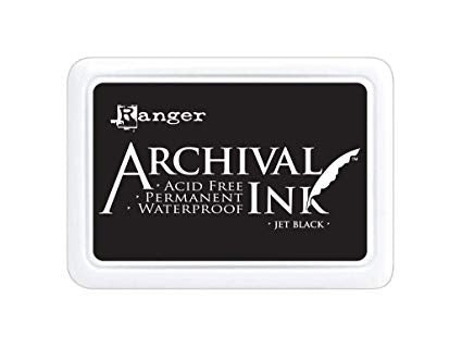 Archival Jumbo Ink Pad JET BLACK