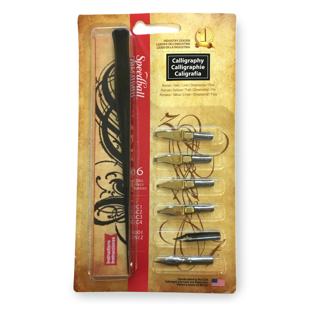 Speedball Calligraphy Nib Set
