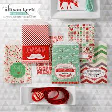 Mini Craft Bags - It's Christmas Collection