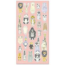 From There On Sticker Sheet - Animals