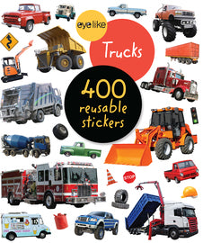 Eye Like Trucks Sticker Book