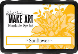 Make Art Blendable Dye Ink - Sunflower