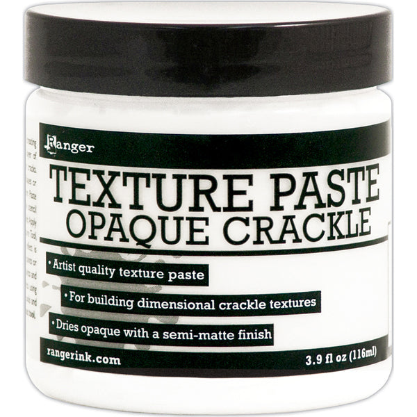Ranger Texture Paste Opaque Crackle  - 4 oz.