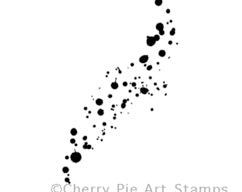 Cherry Pie Stamps - Ink Spray