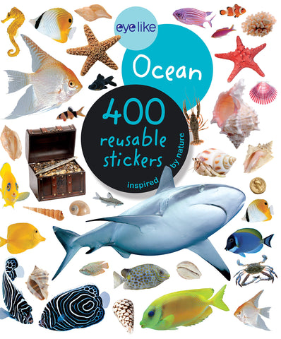 Eye Like Ocean Sticker Book