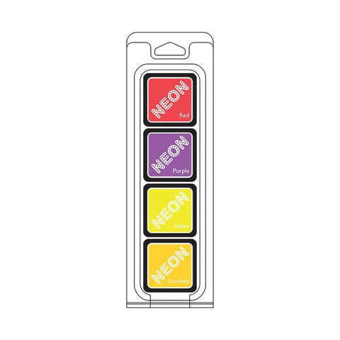 Hero Arts Neon Ink Cubes II - 4 Pack