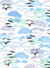 Rubber Stamp Tapestry Skyward