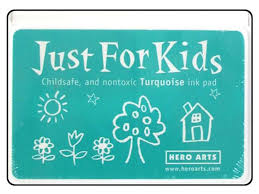 Hero Arts Just for Kids Turquoise Ink Pad