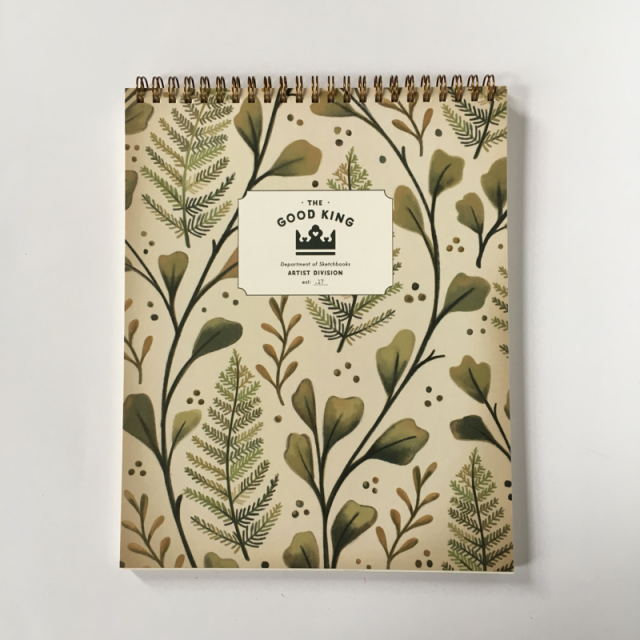 The Good King Sketchbook -Floral