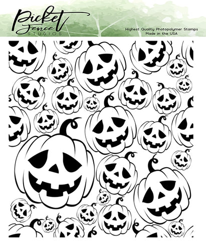 Picket Fence Studios Clear Stamps - Jack-O-Lanterns