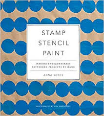 Stamp Stencil Paint Book