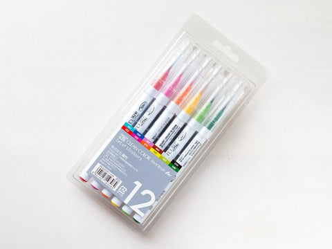 Zig Clean Color Real Brush 12 Colors Set