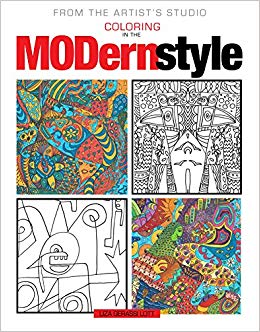 MODern Style Coloring Book