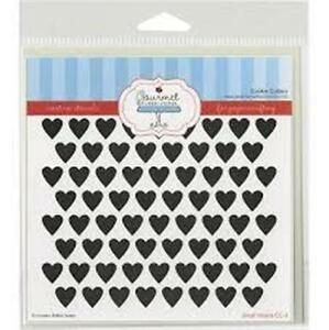 Gourmet Stencils - Small Hearts